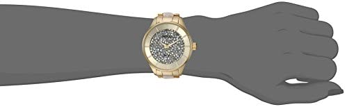 Invicta Women's Angel Quartz Watch with Stainless-Steel Strap, Two Tone, 8 (Model: 24666)