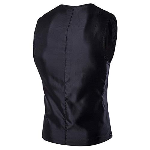 Veste Garçons Outwear Fête Bouton Décontractées Schwarz Sans Pour Vestes Manteau Manches De Col Classique Gilet Gilets Hommes Costume V En gfTxAUR