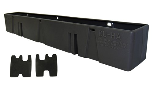 DU-HA Behind-the-Seat Storage Fits 99-07 Chevrolet/GMC Silverado/Sierra Regular Cab, Black, Part #10026