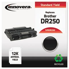 (Remanufactured DR250 Drum Cartridge, 12000 Page-Yield, Black)