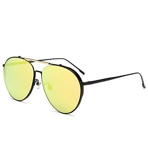té que y marco del recorrido gafas ocio Gafas la ultravioleta sol polarizan conducen señoras polarizada gafas sol negro h anti de Zhangxin luz sol powder que del del de de SBnA1nqzp