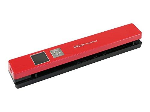 IRIS IRIScan Anywhere 5 Wireless Portable Scanner Red 458843
