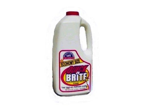 Quick N Brite 71002 All Purpose Liquid Cleaner, 64 Fl Oz (Pack of 7)