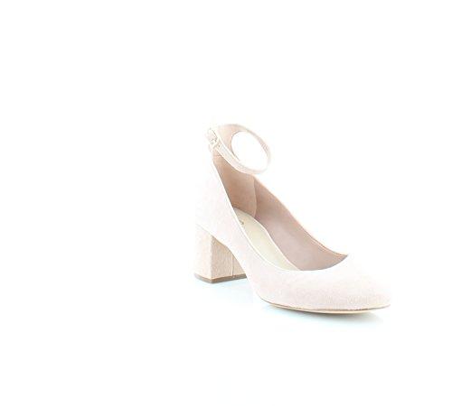 ALDO Womens Clarisse Suede Closed Toe Ankle Strap Classic Pumps, Pink, Size 5.0
