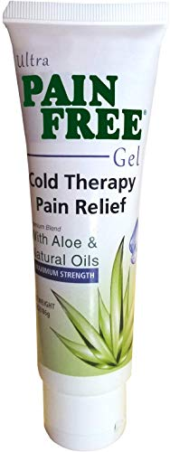Pain Relief Gel - Ultra Pain Free - Cooling Topical Pain Reliever for Joint, Back, Arthritis, and Muscle Pain, Fast Acting and Long Lasting