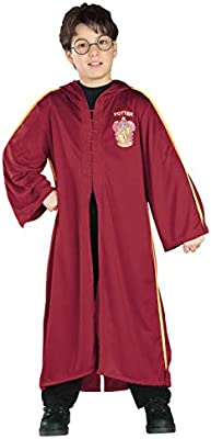 Disfraz de Harry Potter túnica Quidditch niño - 5-7 años: Amazon ...