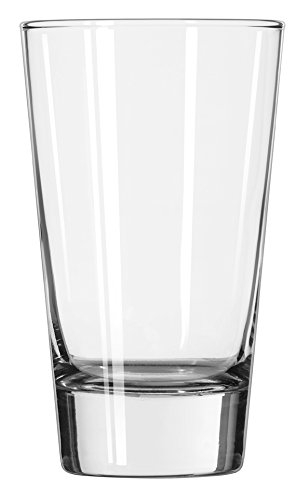 (Libbey 15.5-Ounce Clear Geo Cooler Glass, Set of 12)
