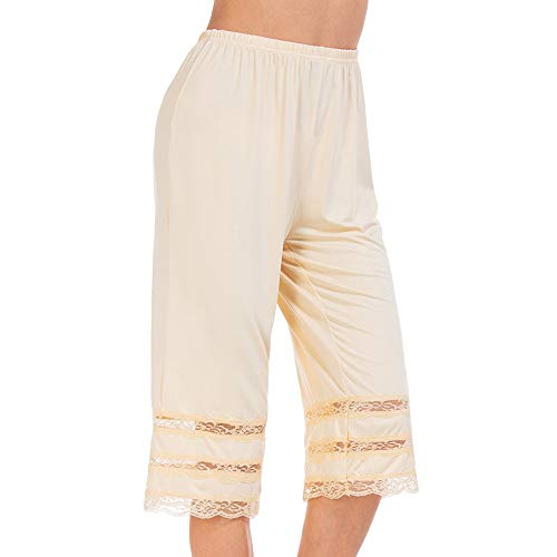 - MANCYFIT Pettipant Half Slip for Women Bloomers 12-18
