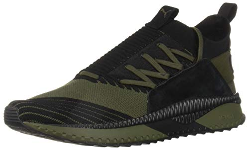 PUMA Men Tsugi Jun Cubism Sneaker Forest Night-puma Black
