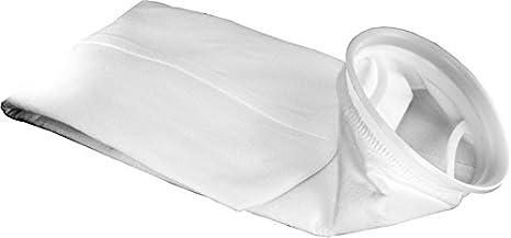 Polyester Duda Energy PESP2PW-50um 50 Micron Welded Polyester Felt Filter Bag 7 x 32 Industrial Size #2