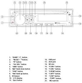 Wiring pyle diagram plmpa35 Stc