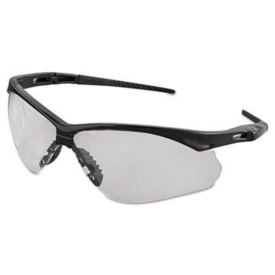 Jackson Safety 28624 V60 Nemesis RX Safety Eyewear, +2.0 Diopter Polycarb Anti-Scratch Lenses, - Lenses Polycarb