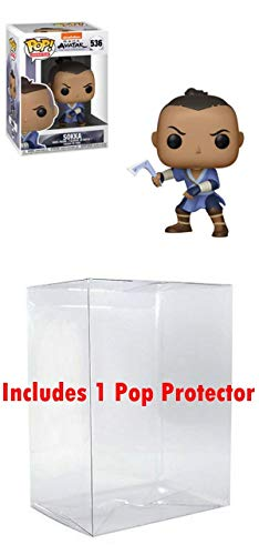POP! Funko Avatar The Last Airbender: Sokka (Bundled Box Protector -