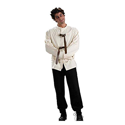Forum Novelties Men's Straight Jacket Costume - Pick Size (Large, White)]()