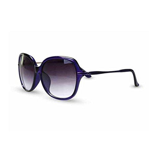 QZ Box 1 HOME Mode UV Soleil Minces Jambes Anti Lunettes Couleur 2 Rond Big de Visage Élégant TWTUrcqB