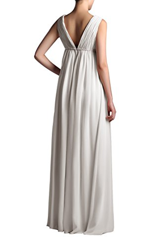 Adorona Ivory Full Chiffon Dress Line Women's Length A aqr0ap