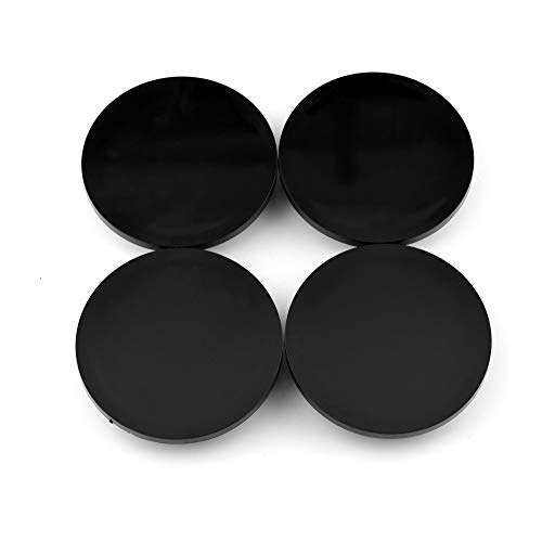 67mm(2.65in)/61mm(2.4in) Black Car Wheel Center Hub Caps Set of 4 for Chevy Blazer(1995-2005) Chevy S10(1995-2004) #15661129