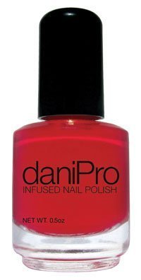 1156011 PT# RED Nail Polish DaniPro Anti-Fungal Red First Kiss .5oz Ea Made by Alde Associates LLC by Roomidea by Roomidea