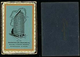 Protective Life Insurance  Birmingham  Alabama  Playing Card Promotional Deck