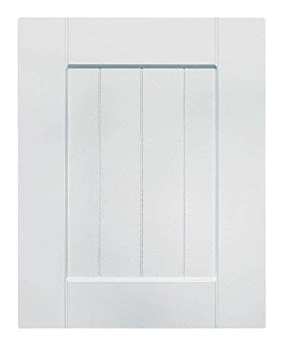 Cabinet Doors N More 10 X 22 Replacement White Rtf Beaded Shaker