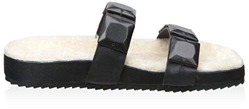 Sandal Women's Two Loeffler Strap Black Randall black w0Hqnz