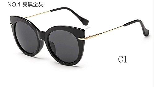 TL sol de de espejo 025 C1 caramelo gafas Sunglasses Gafas de 025 ojo mujeres UV400 C7 de de de Gafas gato tonos sol rPrqEv