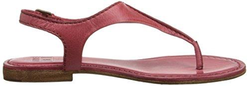 Frye Kvinna Carson Söm T-strap Sandal Papaya-72202