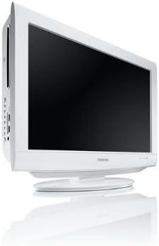 Toshiba 22 DV 734 G- Televisión HD, Pantalla LCD 22 pulgadas- Blanco: Amazon.es: Electrónica