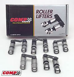 """COMP Cams 871-1 Endure-X 0.300"""" Tall Solid Roller Full Body Lifter for Small Block Chevy"""