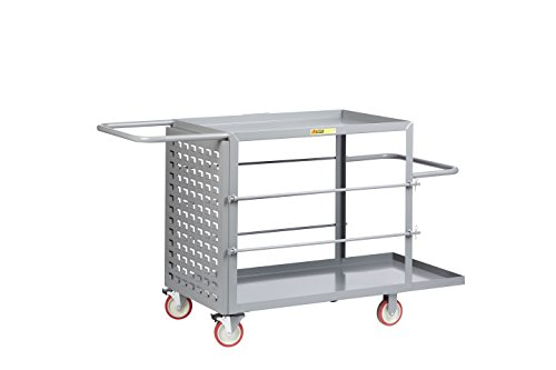 Little Giant RCLP-2448-5TL Wire Reel Cart, Louvered Panel, 65