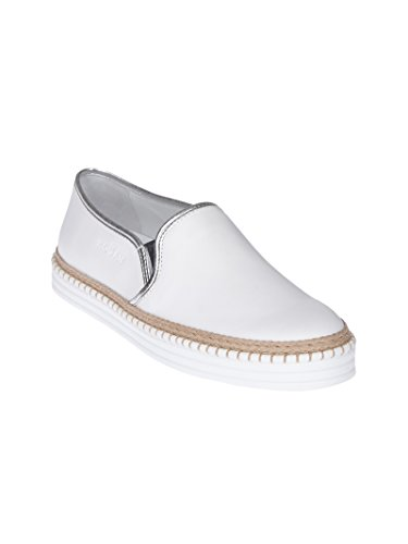 Hogan Damen Hxw2600ai80ij70351 Weiss Leder Slip On Sneakers