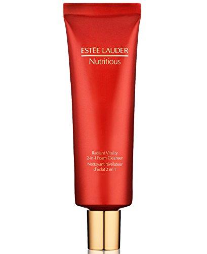 estee lauder Nutritious Radiant Vitality 2-in-1 Foam Cleanser, 4.2 Ounce