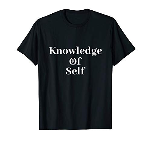 Knowledge Of Self - Afrocentric Clothing Ankh T-Shirt