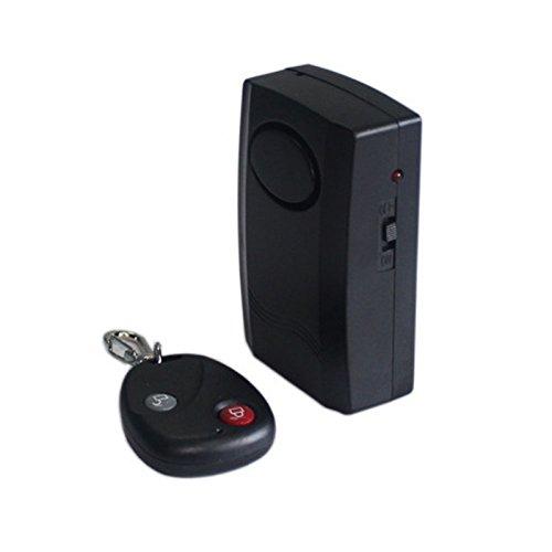 Lionina RV77/Moto Scooter di Sicurezza antifurto Allarme con Telecomando Portachiavi Porta Finestra Allarme immobilizzatore