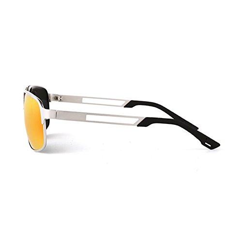 2 Aire Gafas Polarizador Cuadradas Solar Al Sol QY Libre Gafas Protección Moda YQ Sol Juego De 4 HD De Color xCS7UCIqw