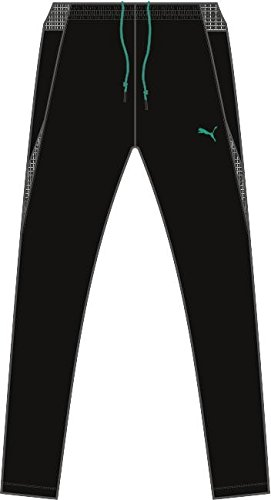 Puma Men's Jeans Tec Woven Evo IT Pants Black Grey, XL