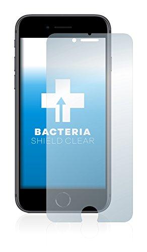 upscreen Bacteria Shield Clear Pellicola Protettiva per Apple iPhone 8 Proteggi Schermo Antibatterica