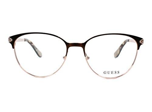 Guess - Monture de lunettes - Femme marron marron Taille unique