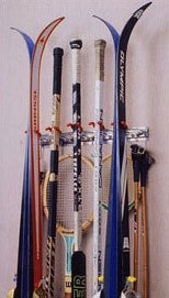 TidyGarage SureLock Wall Mounted Ski Rack