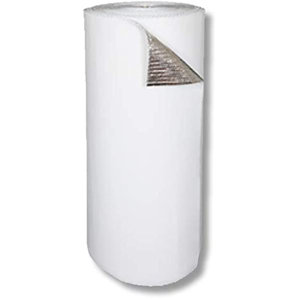 Xtr-1000-B Metalized Aluminum Breathable Reflective Attic Foil House Wrap Insulation BLOCKs 95/% of Heat 48-inch by 250-feet RadiantGUARD XTREME Radiant Barrier INDUSTRIAL Grade 1000 sq ft roll