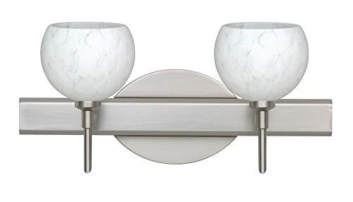 Besa Palla Bathroom Light - Besa Lighting 2SW-565819-LED-SN Palla 5-14.63