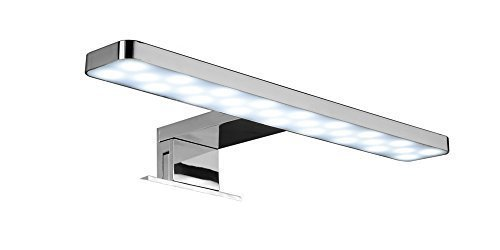 Momentumbath Applique murale pour salle de bain LED, 28cm, 5,5W, Lumière blanche, 6000K [Classe énergétique A] LED28
