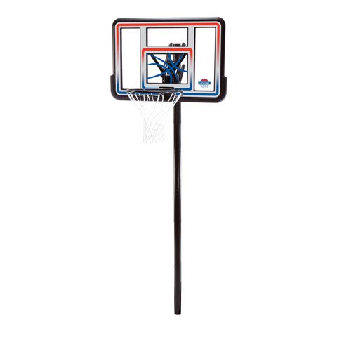 Lifetime 1008 In-Ground Basketball Hoop with 44 Inch Acrylic Fusion Backboard