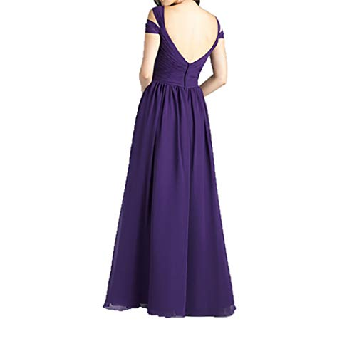 Abendkleider Charmant Royal Brautmutterkleider Lang Festlichkleider Damen Dunkel Kurzarm Blau Elegant Jungendweihe Kleider wZ7SZC