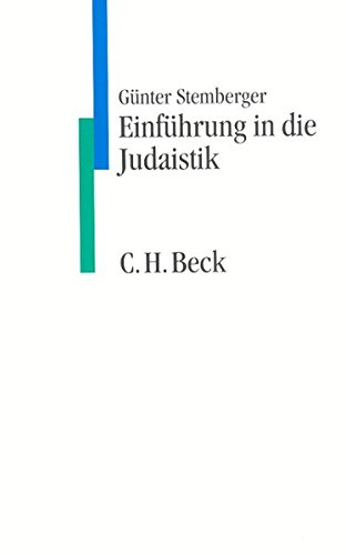 Einführung in die Judaistik (C. H. Beck Studium)