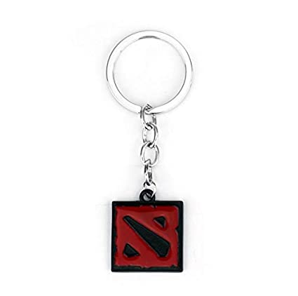 Amazon.com : Key Chains - Dota 2 Keychain Online Game Dota2 ...