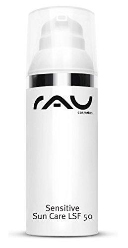 RAU Sensitive Sun Care LSF 50, Sonnenschutzemulsion mit pflegender Sheabutter, LSF 50 (1 x 50 ml)