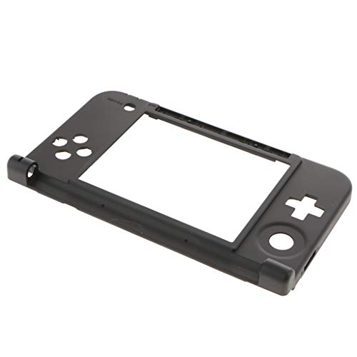 SM SunniMix Replacement Hinge Part Bottom Middle Frame Shell Cover Compatible with Nintendo 3DS XL / 3DS LL ()