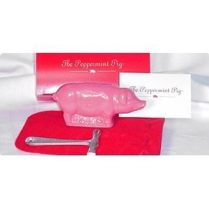 Saratoga Sweets Peppermint Pig - Noel 8oz Combo Pack W/Pouch & Hammer