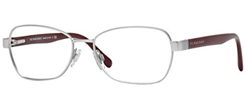 Burberry BE1269 Eyeglasses-1159 Matte Silver-52mm